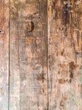 Topveiw di legno della tavola Fotografie Stock