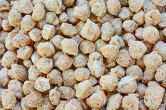 Topview  closeup of  Textured Vegetable Protein Royalty Free Stock Photography