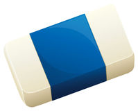 A topview of an eraser