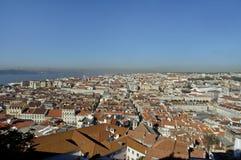 Topview of Lisboa Stock Image