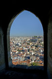 Topview of Lisboa Stock Photography