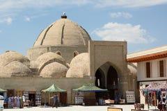 Toqi Zargaron, juvelerarebasaren byggda uzbekistan arkivbilder