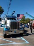 Toque em um evento da comunidade do caminhão, Rutherford, NJ, EUA Fotografia de Stock Royalty Free