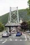 Toque la estación en puente colgante de la montaña del oso, los E.E.U.U. Fotos de archivo libres de regalías