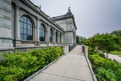 Toque por favor el museo, en el parque del oeste de Fairmount en Philadelphia, Pennsylvania fotografía de archivo libre de regalías