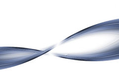 Torção azul Imagem de Stock Royalty Free