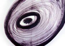 Torções do vento Redemoinho Raging Energia da rotação ilustração do vetor