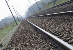 torów kolejowych Fotografia Stock