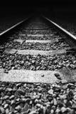torów kolejowych zdjęcie stock