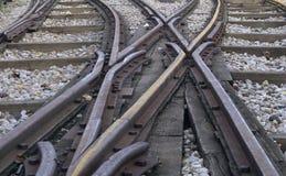 torów kolejowych Obraz Royalty Free