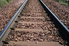 torów kolejowych Zdjęcia Royalty Free