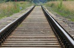 torów kolejowych Zdjęcie Royalty Free