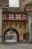 Tor, Aarau, die Schweiz Lizenzfreies Stockfoto
