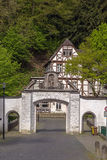 Tor in Altenberg-Abtei, Deutschland Lizenzfreie Stockbilder