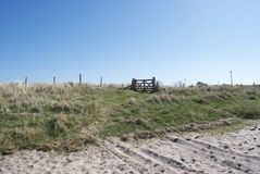 Tor auf einem Strand Lizenzfreie Stockbilder