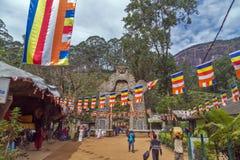Tor auf Spur zu Adam-` s Spitze Sripada, Sri Lanka Stockfoto