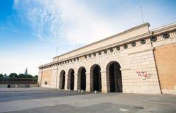 Tor Auseres Burgtor in Wien Lizenzfreies Stockbild