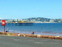 Tor Bay, Paignton, South Devon. Stock Photos