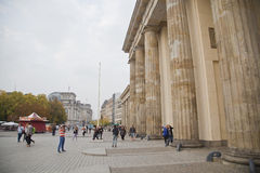 Tor Berlín de Brandenburger Imágenes de archivo libres de regalías
