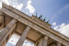 Tor Brandenburger в Берлине Стоковые Изображения