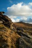 Tor Dartmoor Devon de Belstone Foto de archivo