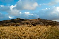 Tor Dartmoor Devon de Belstone Fotos de archivo