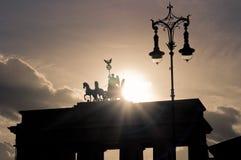 Tor de Brandemburgo Foto de Stock