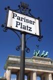 Tor de Brandenburger Foto de Stock