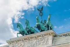 Tor de Brandenburger imagem de stock royalty free