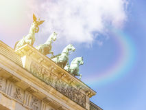Tor de Brandenburger Fotografia de Stock Royalty Free
