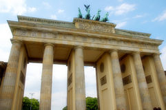 Tor de Brandenburger foto de stock royalty free