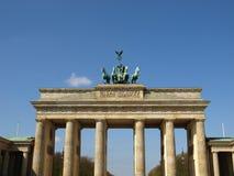 Tor de Brandenburger, Berlín foto de archivo