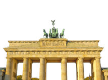 Tor de Brandenburger, Berlín fotografía de archivo libre de regalías