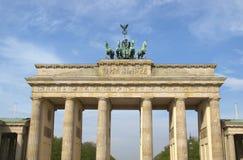 Tor de Brandenburger, Berlim imagens de stock