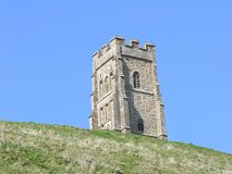 Tor de Glastonbury Imagem de Stock Royalty Free