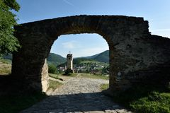Tor de Rotes, Wachau, Austria Fotografía de archivo