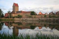 Tor de Rothenburger Fotografía de archivo libre de regalías
