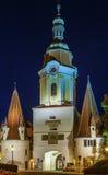 Tor de Steiner, Krems um der Donau, Áustria fotografia de stock