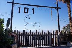 Tor der Oase 101 Kilometer Lizenzfreie Stockbilder