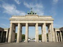 Tor di Brandenburger, Berlino immagini stock