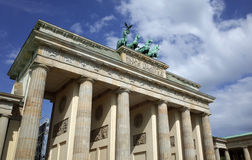 Tor di Brandenburger, Berlino Immagine Stock Libera da Diritti