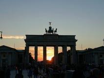 Tor di Brandenburger - porta di Brandeburgo Immagine Stock
