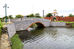Tor in Dong Hoi-Zitadelle, Quang Binh, Vietnam 2 Stockfoto