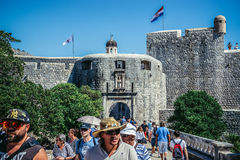 Tor in Dubrovnik Lizenzfreies Stockfoto