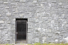 Tor-Eingang auf Steinwand Lizenzfreies Stockfoto