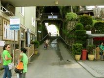 Tor-Eingang, Nationalheiligtum der göttlichen Gnade in Marilao, Bulacan Stockfotos