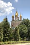 Tor-Kirche von Johannes Baptist Holy Trinity St Sergius Lavra stockfoto