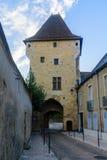 Tor Porte du Croux in Nevers Stockfotografie