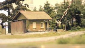 tor szynowy model Pociąg biega przez krzywy Sztachetowy transport, rozrywka zabawkarski przemysł zbiory