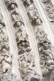Tor von Notre Dame Cathedral stockfotos